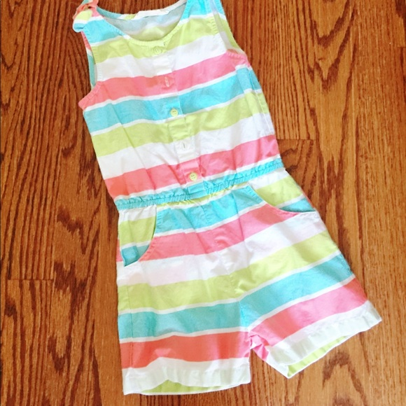30b943d0a3334 zulily Bottoms | Beebay Girls Back To School Romper | Poshmark